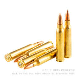 300 Rounds of .223 Rem Ammo by Remington UMC Freedom Bucket - 55gr FMJ