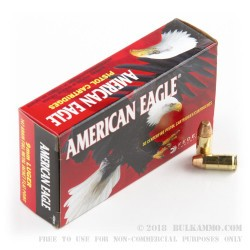 1000 Rounds of 9mm Ammo by Federal - 147gr FMJ