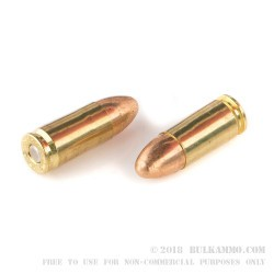 50 Rounds of 9mm Ammo by Federal American Eagle - 115gr FMJ