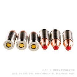250 Rounds of 9mm Ammo by Hornady Critical Duty - 135gr JHP