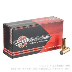 50 Rounds of .38 Spl Ammo by Black Hills Ammunition - 148gr Hollow Back Wadcutter (HBWC)
