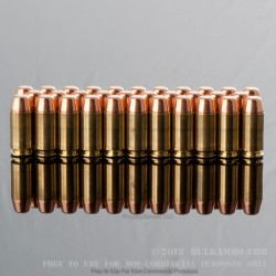 50 Rounds of .40 S&W Ammo by MBI - 165gr FMJ