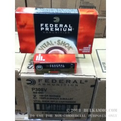 20 Rounds of .308 Win Ammo by Federal - 150gr TSX Barnes