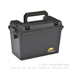 1 New - Plano Plastic Ammo Can - Field Box - Black