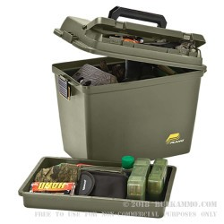 1 New - Plano Field/Ammo Box - Plastic Ammo Box - OD Green