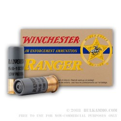 250 Rounds of 12ga Ammo by Winchester - 1 ounce Rifled Slug