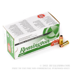 100 Rounds of .40 S&W Ammo by Remington - 180gr JHP