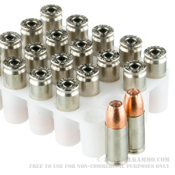 20 Rounds of 9mm +P Ammo by Speer Gold Dot Short Barrel - 124gr JHP