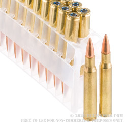 500 Rounds of 30-06 Springfield Ammo by Federal American Eagle - 150gr FMJBT