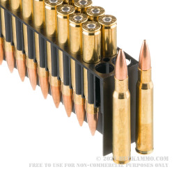 200 Rounds of 30-06 Springfield Ammo by Fiocchi - 180  Grain Sierra MatchKing  HPBT