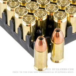 1000 Rounds of 9mm Ammo by Magtech - 115gr JHP