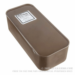 900 Round Sealed Container of 9mm Ammo by Tula - 115gr FMJ