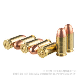 600 Rounds of .45 ACP Ammo by Federal Black Pack - 230gr FMJ