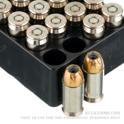 20 Rounds of .45 ACP Ammo by Remington Golden Saber Bonded - 230gr BJHP