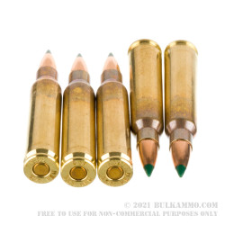 20 Rounds of .223 Ammo by ADI - 55gr Polymer Tipped Sierra BlitzKing
