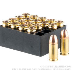20 Rounds of 9mm Ammo by PMC SFX - 124gr JHP
