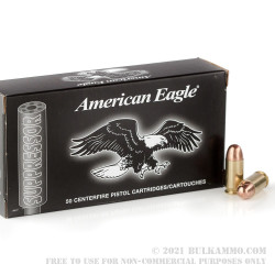 500  Rounds of .45 ACP Ammo by Federal - 230gr FMJ