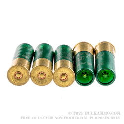 5 Rounds of 12ga Ammo by Remington - 385gr Sabot Slug