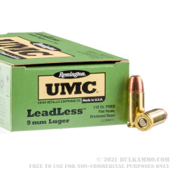 500 Rounds of 9mm Ammo by Remington - 115gr FNEB