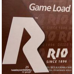 250 Rounds of 12ga Ammo by Rio - 1-1/16 ounce #8 shot
