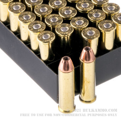 50 Rounds of .357 Mag Ammo by Fiocchi - 158gr JHP