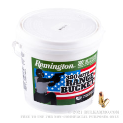 300 Rounds of .380 ACP Ammo by Remington UMC - 95gr FMJ