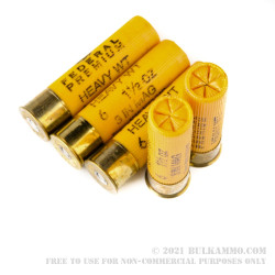 5 Rounds of 20ga Ammo by Federal - 1 1/2 ounce #6 shot Heavyweight Turkey Load