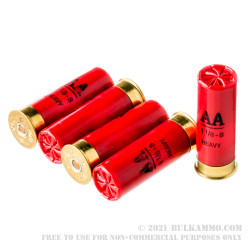 """25 Rounds of 12ga 2-3/4"""" Ammo by Winchester - 1 1/8 ounce #8 shot"""