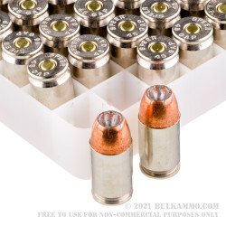 50 Rounds of .45 GAP Ammo by Speer Gold Dot - 200gr JHP