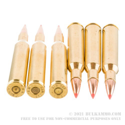 20 Rounds of .270 Win Ammo by Black Hills Gold Ammunition - 130gr Hornady SST