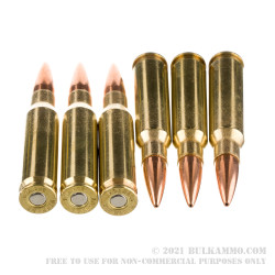 200 Rounds of .308 Win Ammo by Hornady American Gunner - 155gr BTHP in Field Box