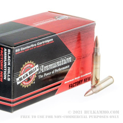 500  Rounds of 5.56x45 Ammo by Black Hills Ammunition - 77gr OTM
