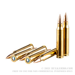 500 Rounds of .223 Ammo by Federal American Eagle Military Grade - 55gr FMJBT