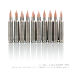 500 Rounds of .223 Ammo by Colt (Silver Bear) - 62gr FMJ