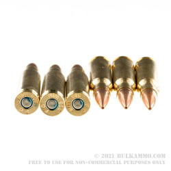 500 Rounds of .308 Win Ammo by Federal Sierra Match King - 168gr HPBT
