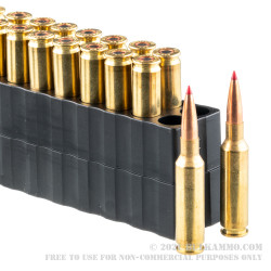 20 Rounds of 6.5 Creedmoor Ammo by Black Hills Gold - 147gr ELD Match