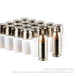 20 Rounds of .40 S&W Ammo by Federal Punch - 165gr JHP
