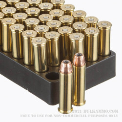 50 Rounds of .357 Mag Ammo by Black Hills Ammunition - 158gr JHP