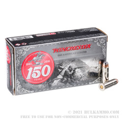 50 Rounds of .44-40 Win Ammo by Winchester 150 Year Commerative - 200gr SP
