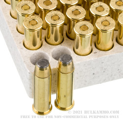 500 Rounds of .38 Spl Ammo by Winchester USA - 125gr JSP