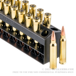 20 Rounds of 5.56x45 Ammo by Barnes VOR-TX - 70gr TSX