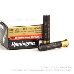 150 Rounds of .410 Ammo by Remington -  000 Buck