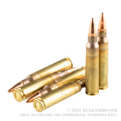 500 Rounds of 5.56x45 Ammo by Hornady Frontier - 68gr BTHP Match