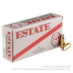 1000 Rounds of .45 ACP Ammo by Estate Cartridge - 230gr FMJ