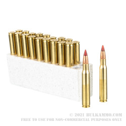 20 Rounds of 30-06 Springfield Ammo by Winchester Deer Season XP Copper Impact - 150gr Copper Extreme Point