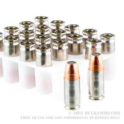 200 Rounds of 9mm Ammo by Speer Gold Dot G2 - 147gr JHP