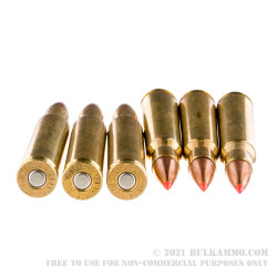 20 Rounds of 30-06 Springfield Ammo by Fiocchi - 180gr SST