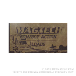 1000 Rounds of .38 Spl Ammo by Magtech Cowboy Action  - 158gr LFN