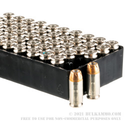 500  Rounds of .40 S&W Ammo by Remington - 165gr JHP
