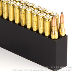 20 Rounds of 25-06 Remington Ammo by Hornady American Whitetail - 117gr InterLock